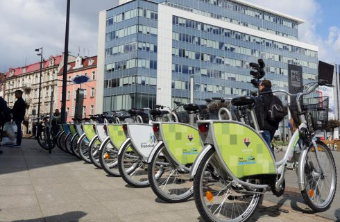 Sieć wypożyczalni rowerów w Katowicach coraz większa