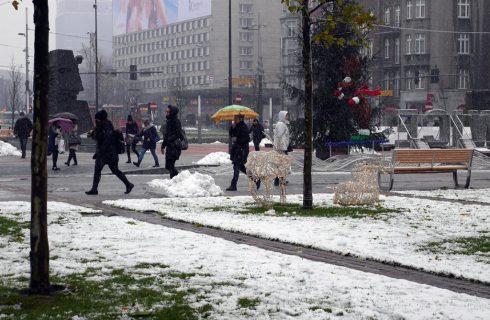 Dzień dobry Katowice. Niedawno odnowiony wiadukt został zniszczony