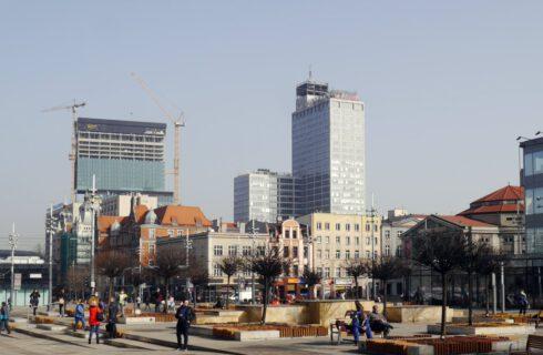 Dzień dobry Katowice. Stoją duże hotelowe inwestycje w centrum miasta