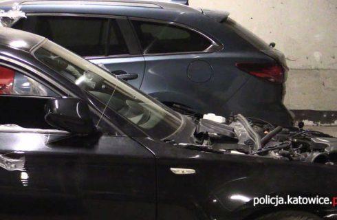 Coraz mniej kradzieży samochodów w Katowicach