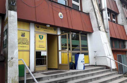 Włamanie do budynku GKS Katowice. Zniknęły flagi kibiców
