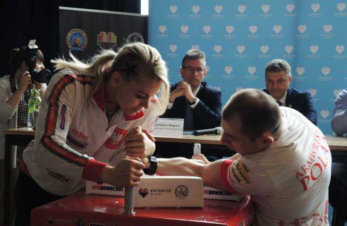 W Katowicach odbędą się Mistrzostwa Europy w siłowaniu na rękę