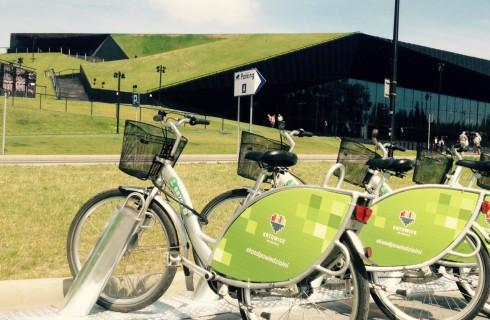 Sezon rowerowy w Katowicach potrwa dłużej