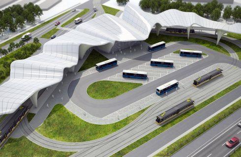 Rozpoczyna się budowa centrum przesiadkowego w Zawodziu