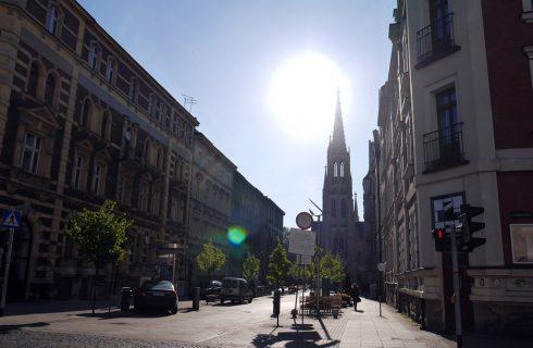 Dzień dobry Katowice. Temperatura coraz wyższa